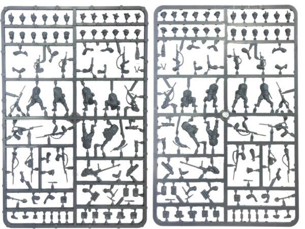 Plastic 8th Army Frames