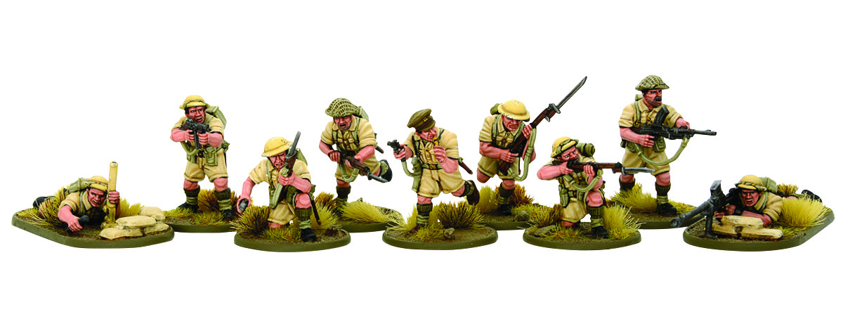 Workbench Rats Of Tobruk Bolt Action 8th Army Warlord