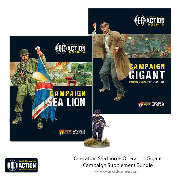 Picture showing new bundle offer of Sea Lion and Gigant books