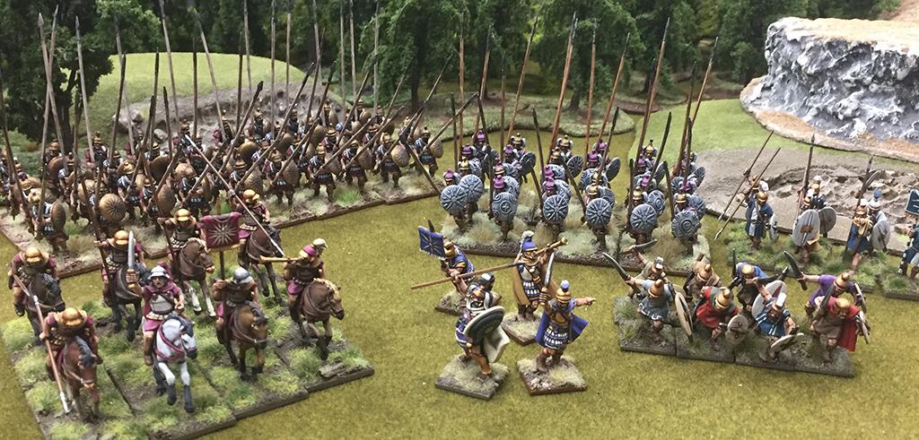 Philip II's Macedonian Army in Hail Caesar