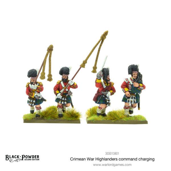 Crimean War Highlanders Command