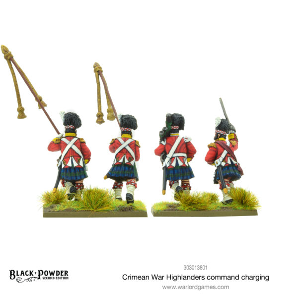 Crimean War Highlanders Command rear