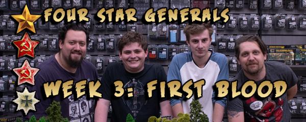Four Star Generals First Blood