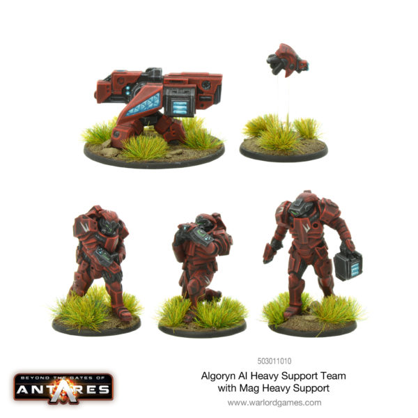 Algoryn Heavy Support Team with Mag Heavy Support