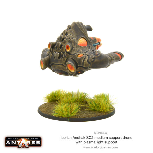 Isorian Andhak SC2 Medium Support Drone with Plasma Light Support