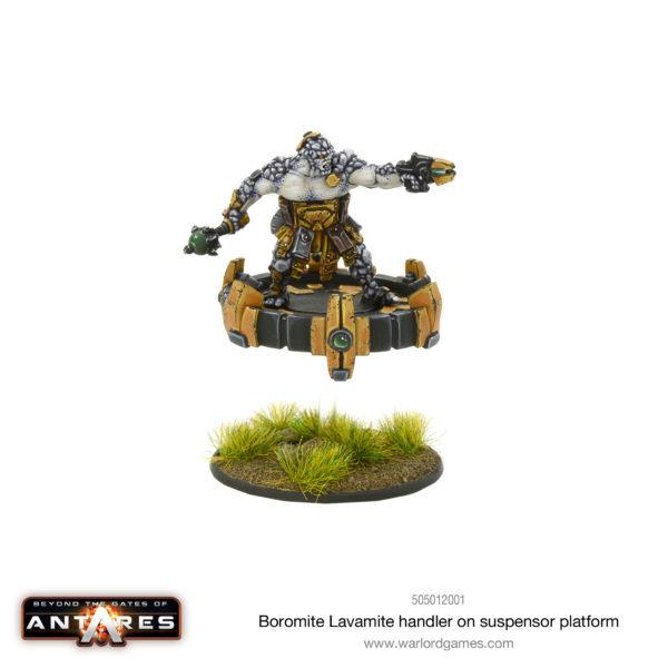 Boromite Lavamite Handler on Suspensor Platform