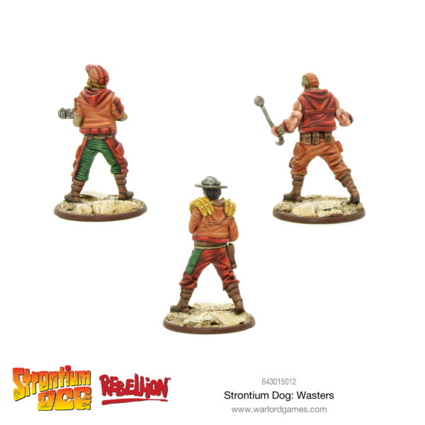 Strontium Dog: Wasters Rear