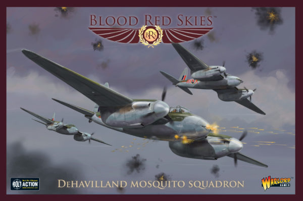 De Havilland Mosquito Squadron – Blood Red Skies