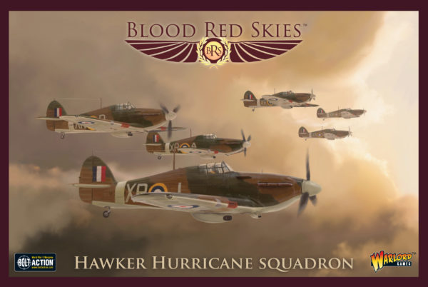 Hawker Hurricane squadron box
