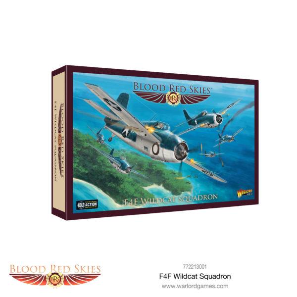 Blood Red Skies F4F Wildcat squadron Box