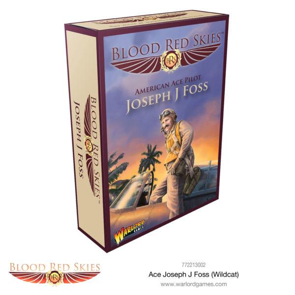 Blood Red Skies Ace: Joseph J Foss (Wildcat) box