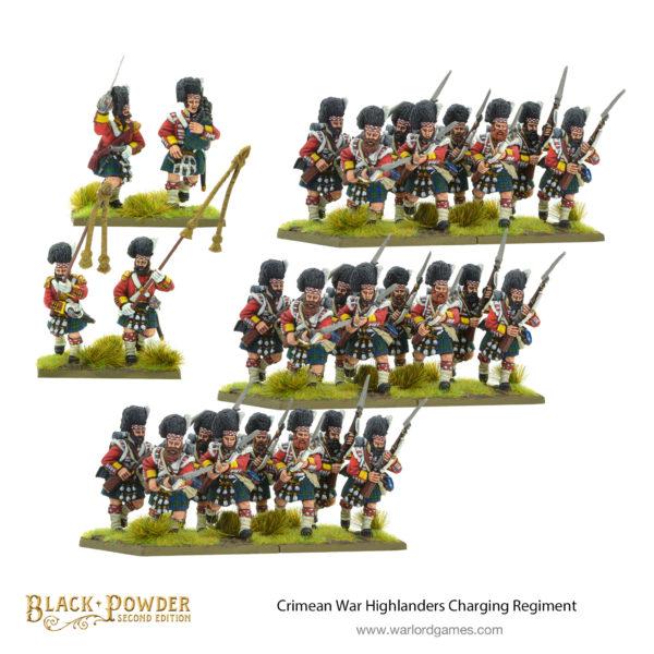 Crimean War Highlanders Regiment