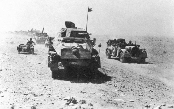 A Kampfgruppe of the 21st Panzer Division.