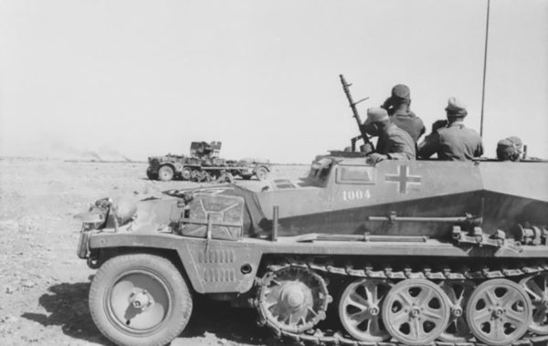An SdKfz 251/1 of the 21st Panzer Division.