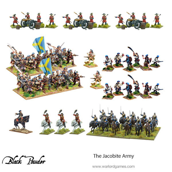 The Jacobite Army bundle