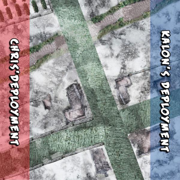 First Blood deployment map