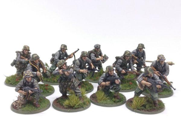 Jeremias' Late War German Grenadiers squad.