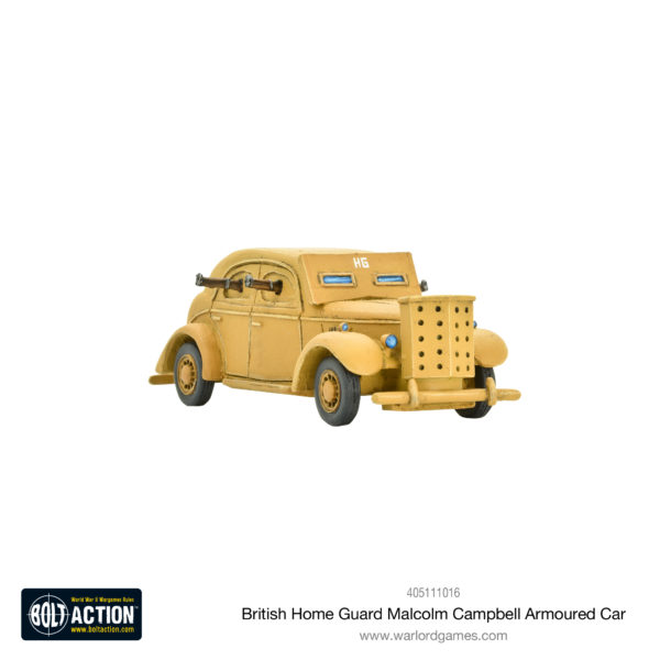 Malcolm Campbell Home Guard armoured car