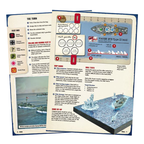 cruel seas  an introduction to small ship action