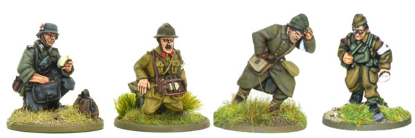 A selection of medics from some of our early war command blisters.