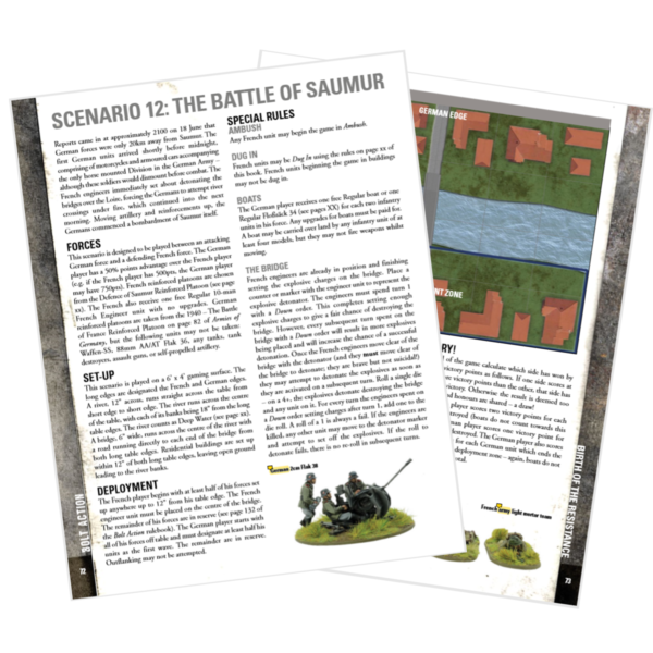 The Battle of Saumur scenario from the new campaign book.