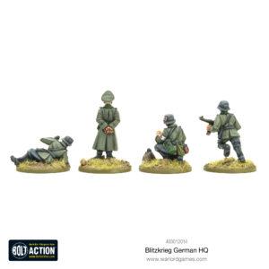Blitzkrieg German HQ rear