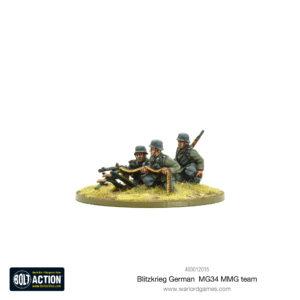 Blitzkrieg German MG34 MMG team