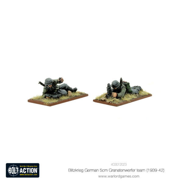 Blitzkrieg German 5cm Granatenwerfer team