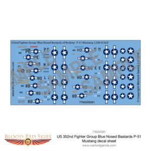 352nd Fighter Group Decals