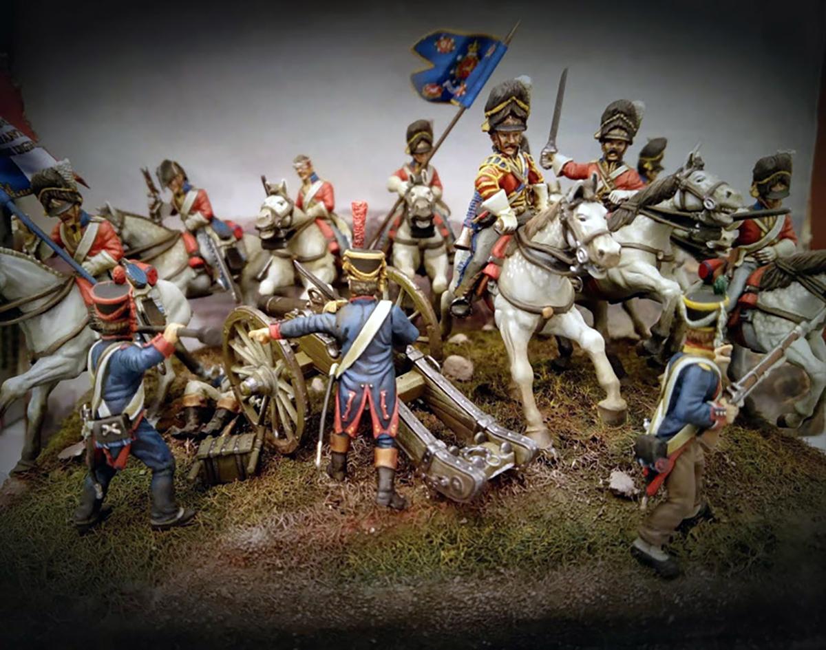 Spotlight: Luis' Scots Greys Diorama | Warlord Games
