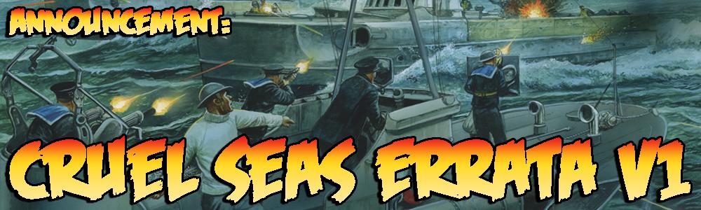 Cruel Seas Errata V1