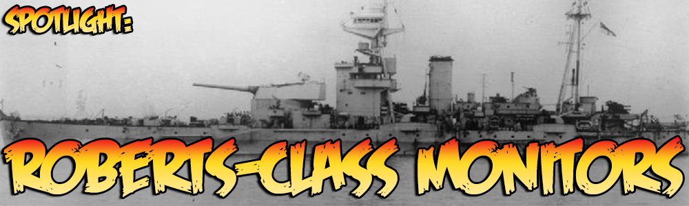 Roberts-class Monitor banner
