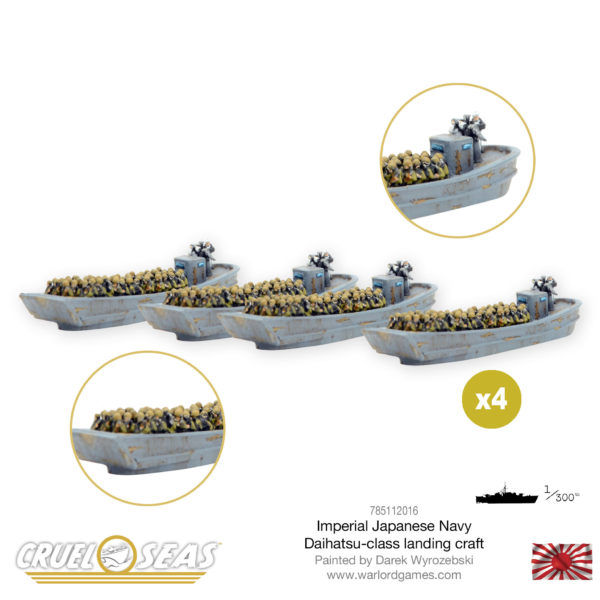 Picture of 785112016 Imperial Japanese Navy Daihatsu-class landing craft