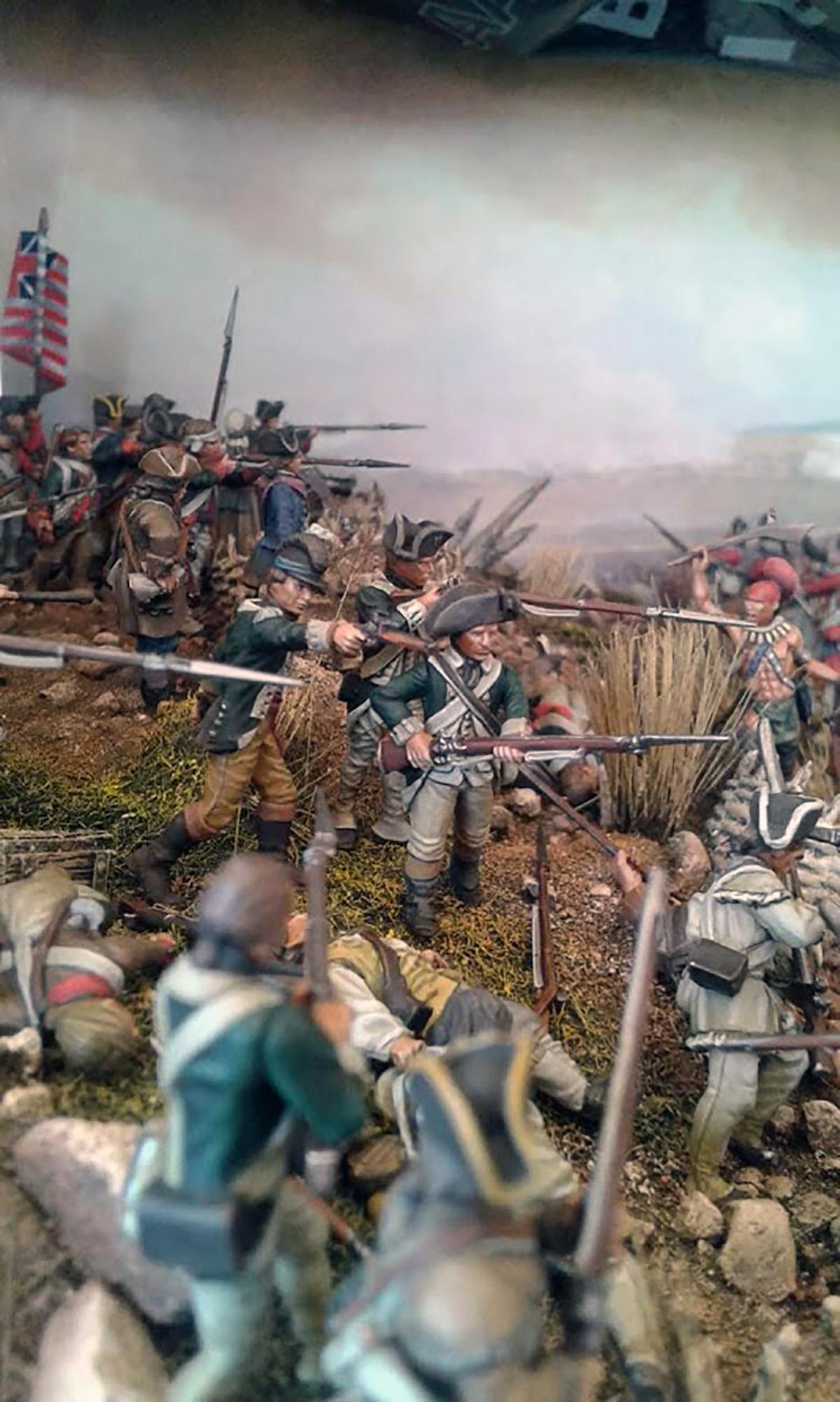 Spotlight Saratoga 1777 Diorama Warlord Games