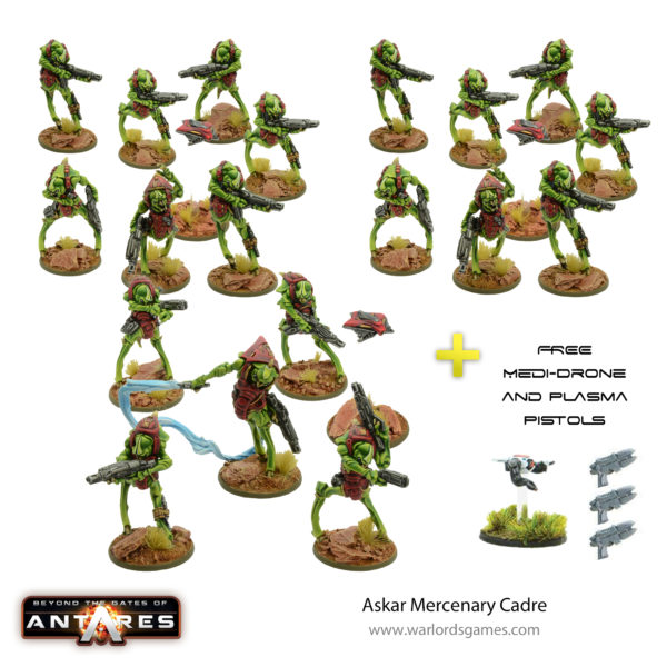 Askar Mercenary Warriors Cadre