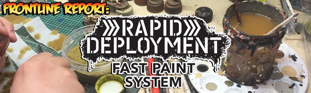 Rapid Deployment Paint System Banner