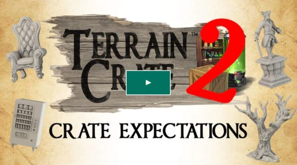 Terraincreate 2 Kickstarter from Mantic games