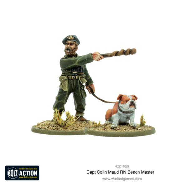 Capt Colin Maud RN Beach Master
