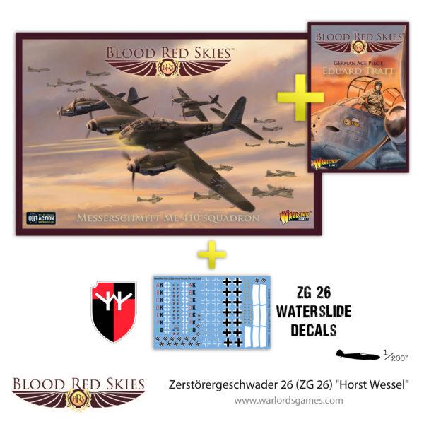 779911015 Zerstörergeschwader 26 (ZG 26) Horst Wessel