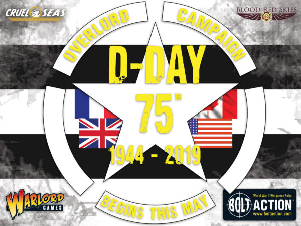 The Warlord Games D-Day 75th Campaign Begins this May