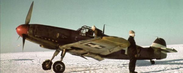 A Bf-109F in service with the Royal Hungarian Air Force