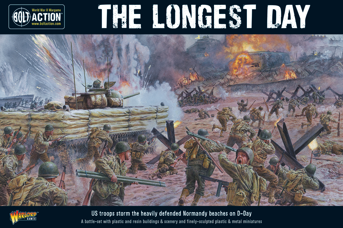The Longest Day battle-set cover art