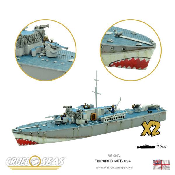 Fairmile D MTB 624