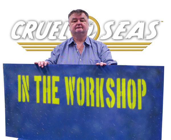 John Stallard Cruel Seas In The Workshop