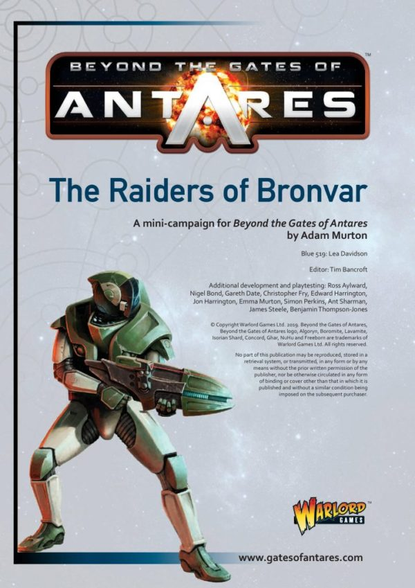 Raiders of Bronvar