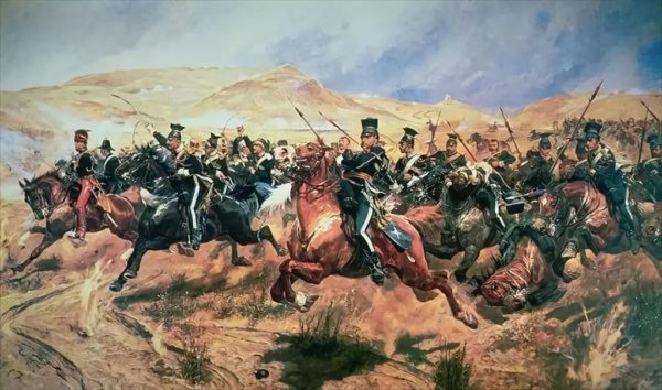 The Charge of the Light Brigade by Caton Woodville