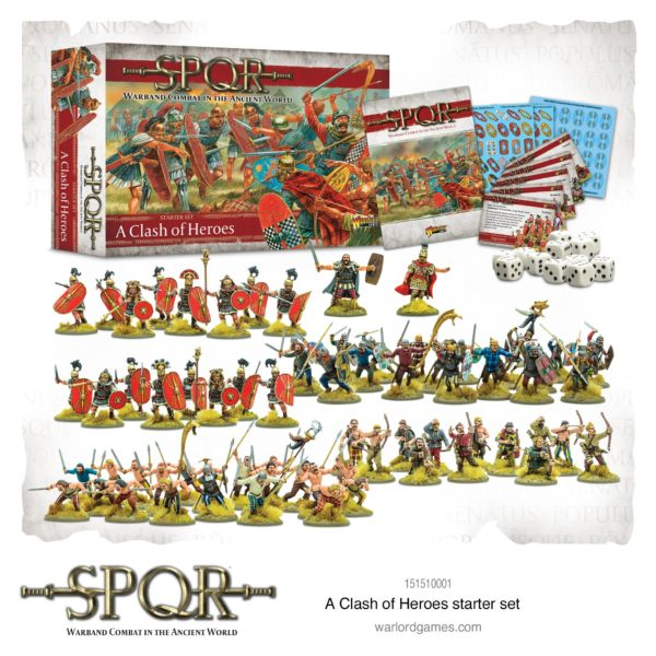 SPQR Clash of Heroes Starter Set