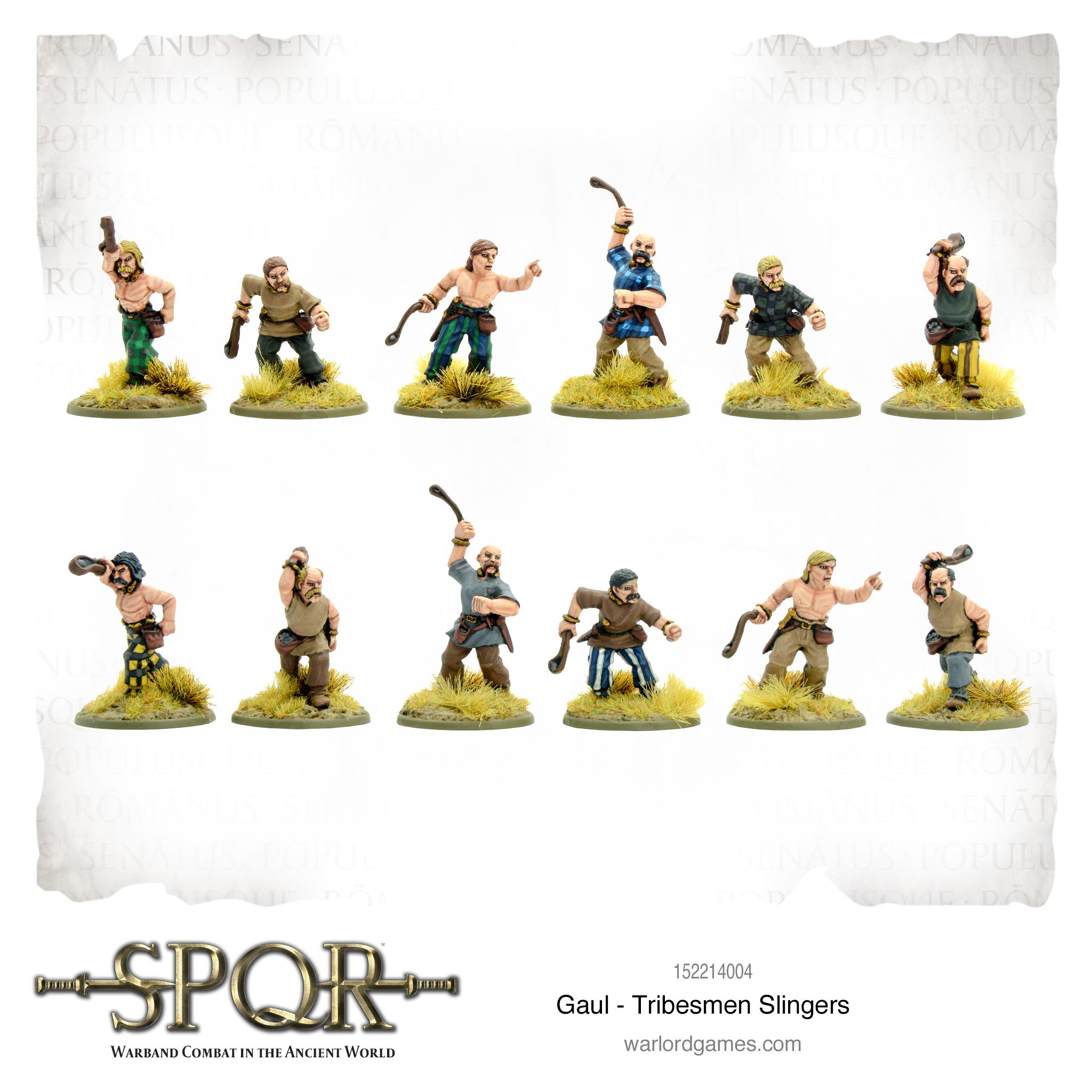 Gaul Tribesmen SLingers