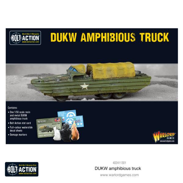 DUKW Amphibious Truck Box