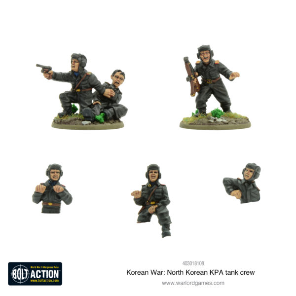 North Korean KPA tank crew Front